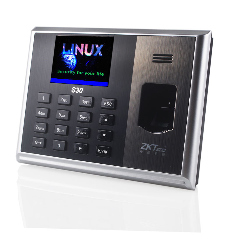 Time Attendance Linux System Biometric Time Clock By Finger Network  Professional  Finger To Do Attendance ZK S30