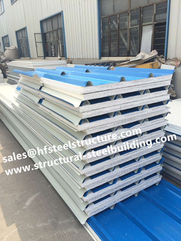 US $825 0 |China supply EPS roof panel insulated sandwich panels and  composite metal sandwich roofing panels price-in Door & Window Frames from  Home