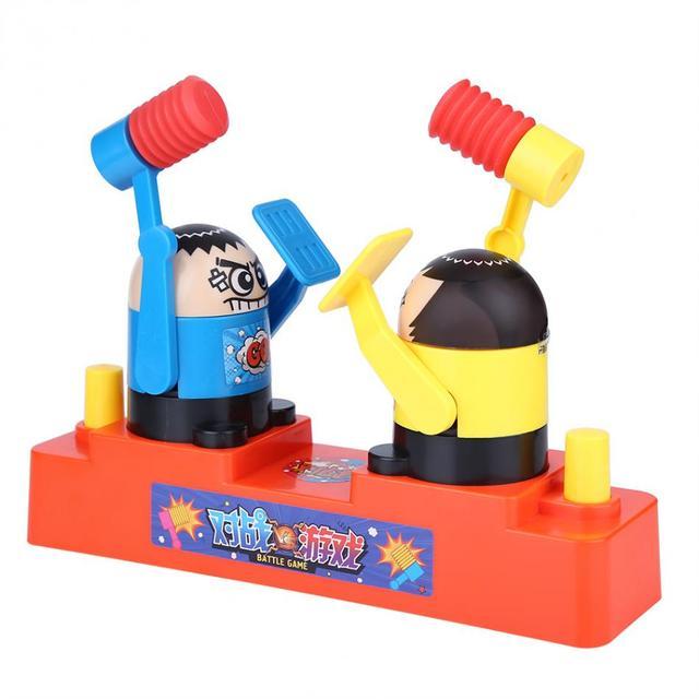 Hot Engraçado Prank Joke Prático Crianças Lutar Batalha Brinquedo Antistress Interação Pai-Filho Jogo de Mesa Jogo de Crianças Brinquedos Do Bebê presente