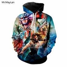 2018 Hot Movie Aquaman 3D Print Jackets Men/women Hiphop Streetwear Hoodies Boys Hipster Outwear Man Cool Clothes Oversized 5XL