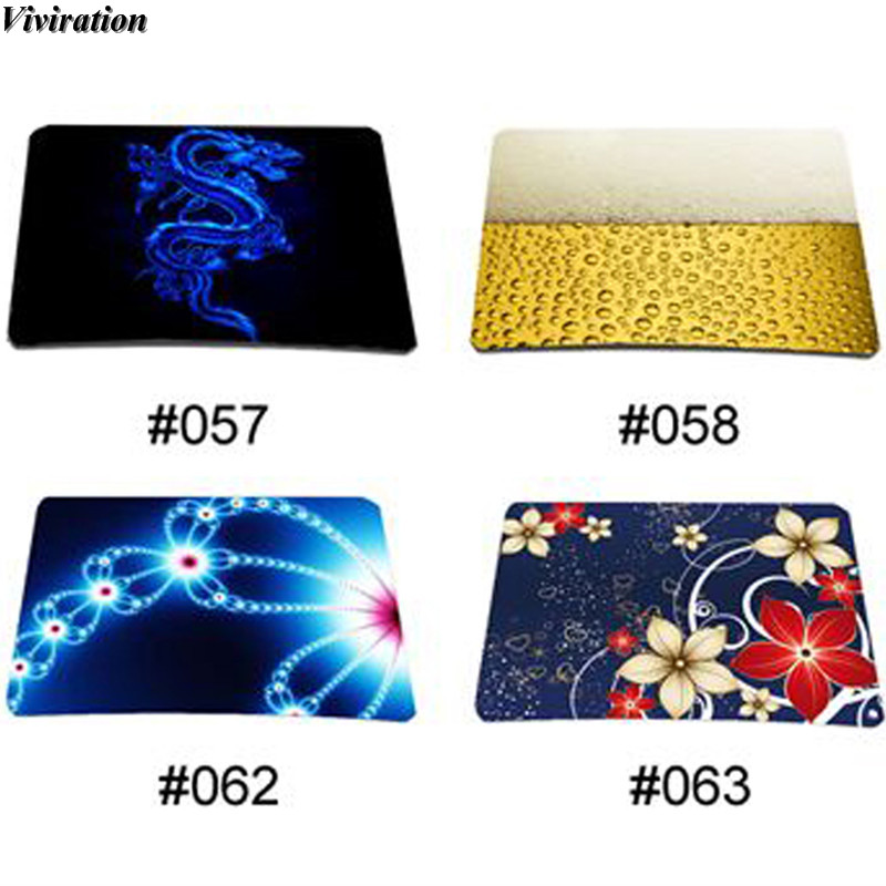 Good Use Latest Viviration Anti-slip Gaming Mouse Pad 210mm X 180mm Brand New Fashion Rubber Laptop Notebook Tablet PC Mouse Mat
