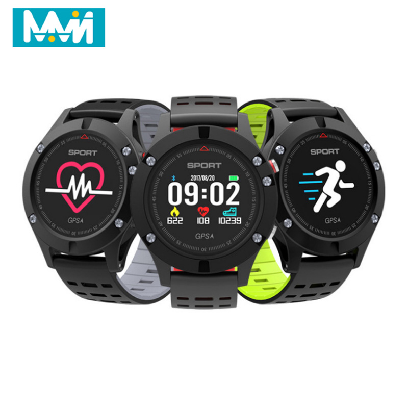 1 Gps Smart Uhr F5 Höhenmesser Barometer Thermometer Bluetooth 4,2 Smartwatch Tragbare Geräte Für Ios Android Dropshipping Smart Watches Tragbare Geräte No