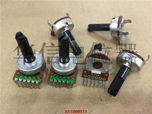 5 pçs/lote estoque 161 vertical duplo potenciômetro a20k lidar com comprimento 20mmf