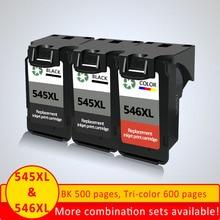 XiangYu PG-545XL PG 545 PG545 CL546 PG545XL PG-545 CL-546 Ink Cartridges For Canon MX495 MG2450 NS28 MG2550 MG2555 MG2400 IP2850