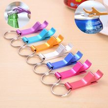 Portable 4 in 1 Bottle Opener Key Ring Chain Keyring Keychain Metal Beer Bar Tool Claw Gift Unique Creative Gift(China)