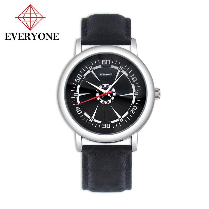 Mens Watches Top Brand Luxury Fashion Business Quartz Watch Men Clock Sport Leather Waterproof Wristwatch Relogio Masculino
