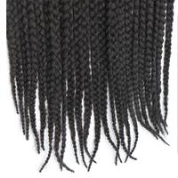 Feibin Havana Crochet Braids Afro Braiding Hair Extensions 3Packs 60 Strands 18 Inches B42