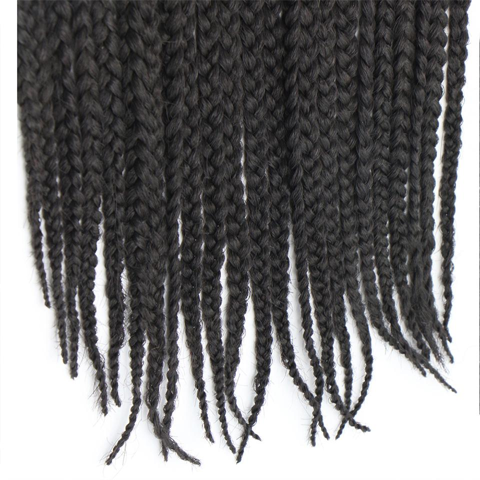 Feibin Havana Crochet Braids Afro Tressage Extensions De Cheveux 3Packs 60 Brins 18 pouces B42