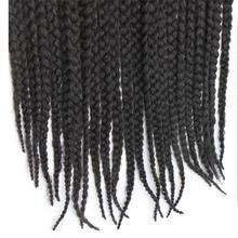 Feibin Havana Crochet Braids Afro Braiding Hair Extensions 3Packs 60 Strands 18 inches B42