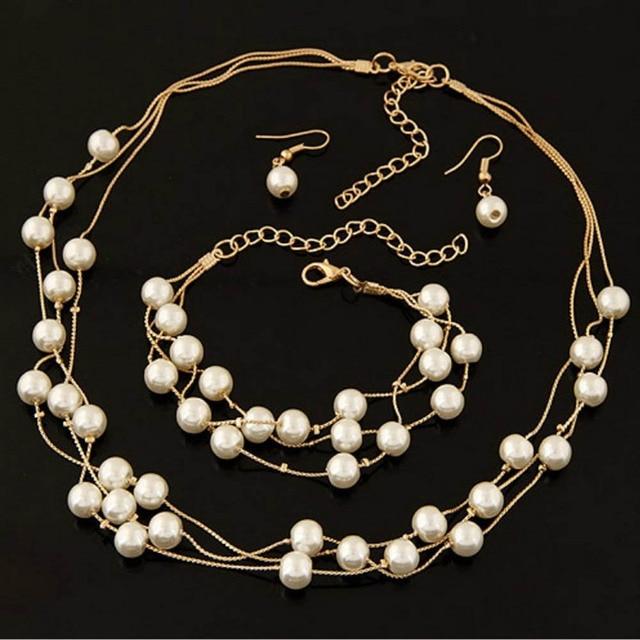 Imitation Pearls Jewelry...