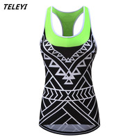 Teleyi Women Breathable Cycling Vest Sleeveless Riding Bicycle Vest Ropa Ciclismo Cycling Clothing MTB Bike Vest