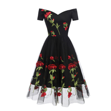 Off Shoulder Black Maxi Summer Dress 2019 Mesh Fluffy Dress Women Strapless Party Sexy Summer Vintage Print Dresses Vestido stylish strapless sleeveless flower print women s maxi dress