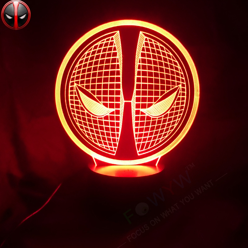 Light Gallery 3d Superhero Wall Light