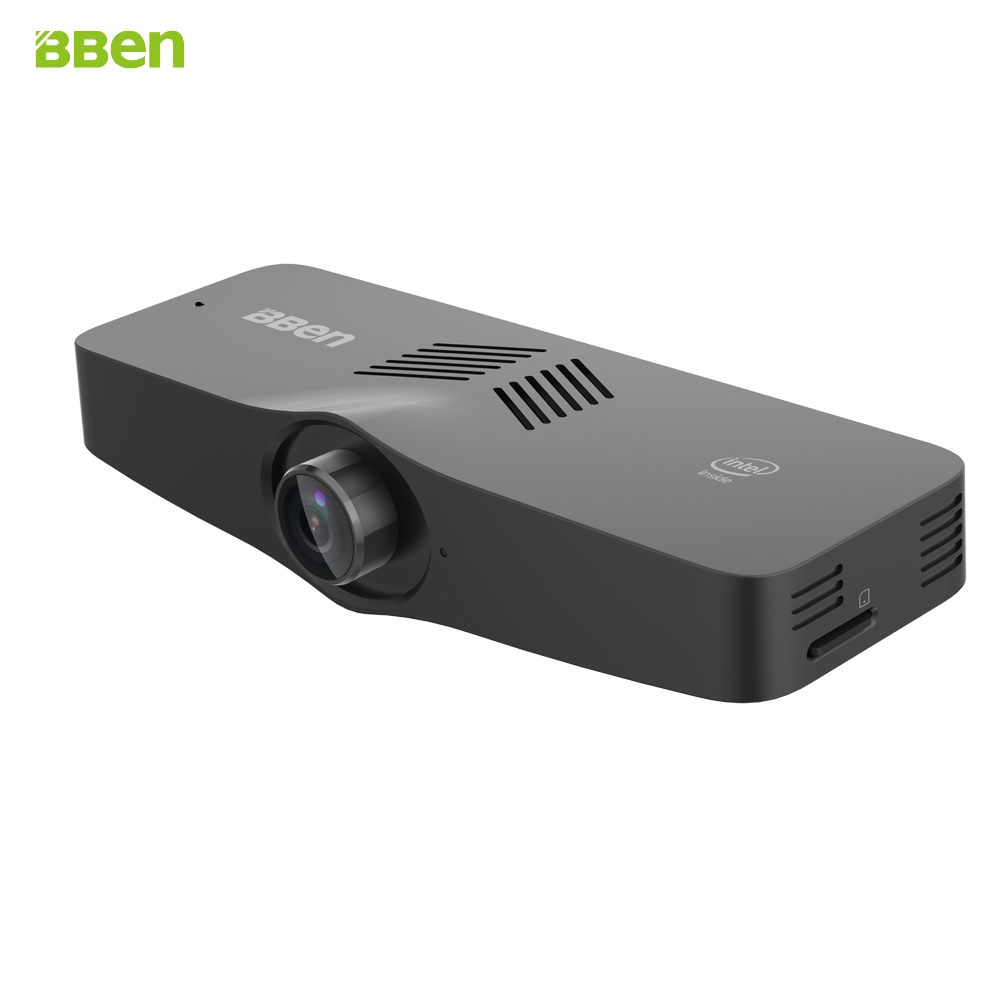 Bben Newest C100 Intel Z8350 Quad Core CPU Windows 10 OS Camera 2G/4G DDR3L RAM 32G/64G Emmc Wifi BT4.0 Mini PC Stick Computer bben mn9 mini pc windows 10 ubuntu os intel z8350 cpu intel hd graphics 4g 64g ram rom wifi bt4 0 tv box pc stick computer