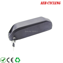 цена на Free shipping and taxes to EU US 52V 17.5Ah high power Li-ion battery pack shark down tube electric bike battery for ebike
