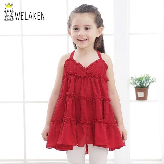Welaken Mädchen Sommer Kleidung Hübsche Kinder Baumwolle Harness ...