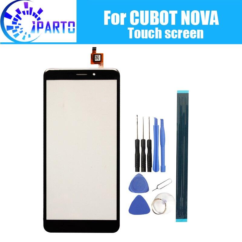 CUBOT NOVA Touch Screen Glass 100% Guarantee Original Digitizer Glass Panel Touch Replacement For CUBOT NOVA
