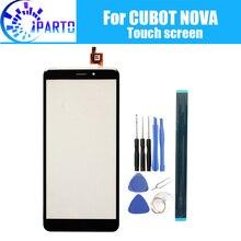 CUBOT NOVA dokunmatik ekran cam 100% garanti orijinal sayısallaştırıcı cam Panel için dokunmatik değiştirme CUBOT NOVA