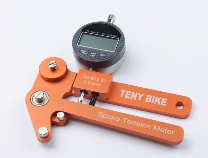 Спиц натяжения Тестер Цифровые весы 0,01 мм велосипед индикатор Attrezi метр Tensiometer Велосипедный спорт спиц натяжения колеса строителей инструм...