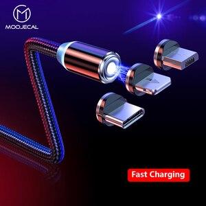 MOOJECAL LED Micro USB Cable F