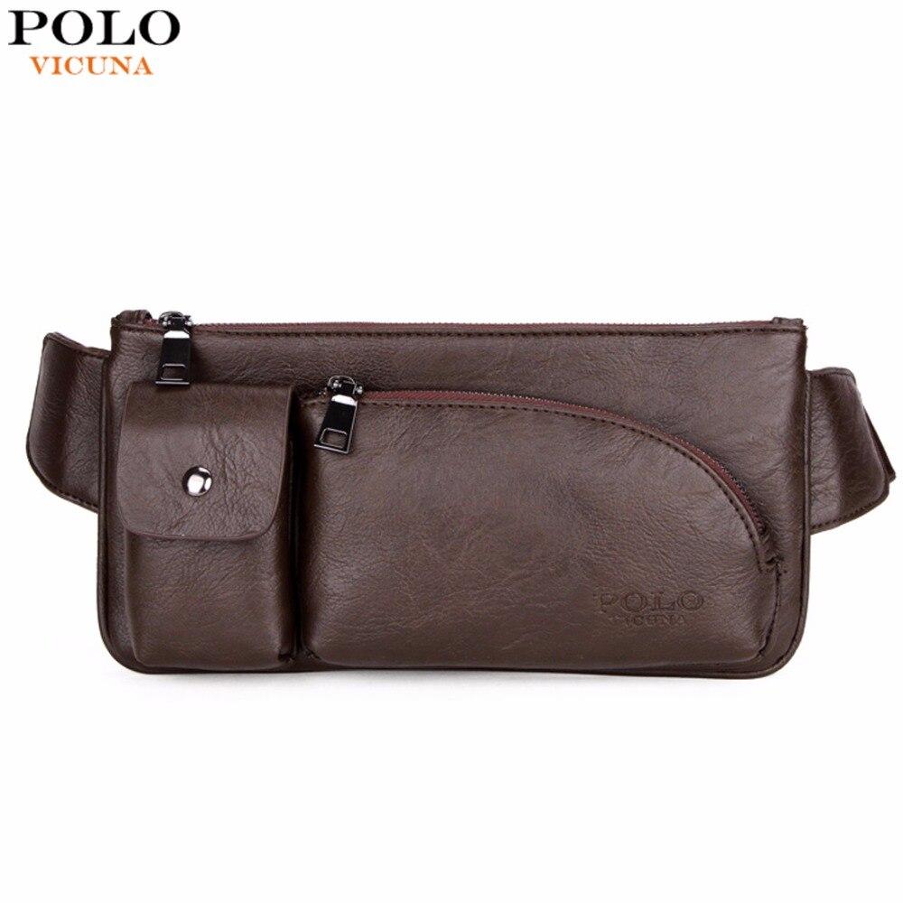VICUNA POLO新しいファッション大容量メンズウエストバッグトレンディメンズファニーパックWasitパックブランドメンズクロスボディバッグ男性用バッグ新しいСумка