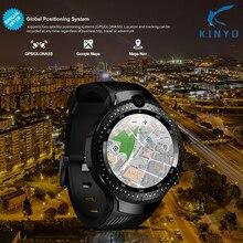 Android 7.1 LTE 4G inteligentny zegarek 1 + 16GB obsługa karty sim WIFI GPS mapa google Smartwatch 5MP + 5MP kamera jak M7/8 Z28 W2