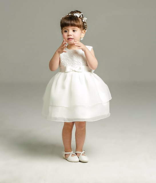 2017 new Baby girl dresses marriage girls full moon pendulum wine ...