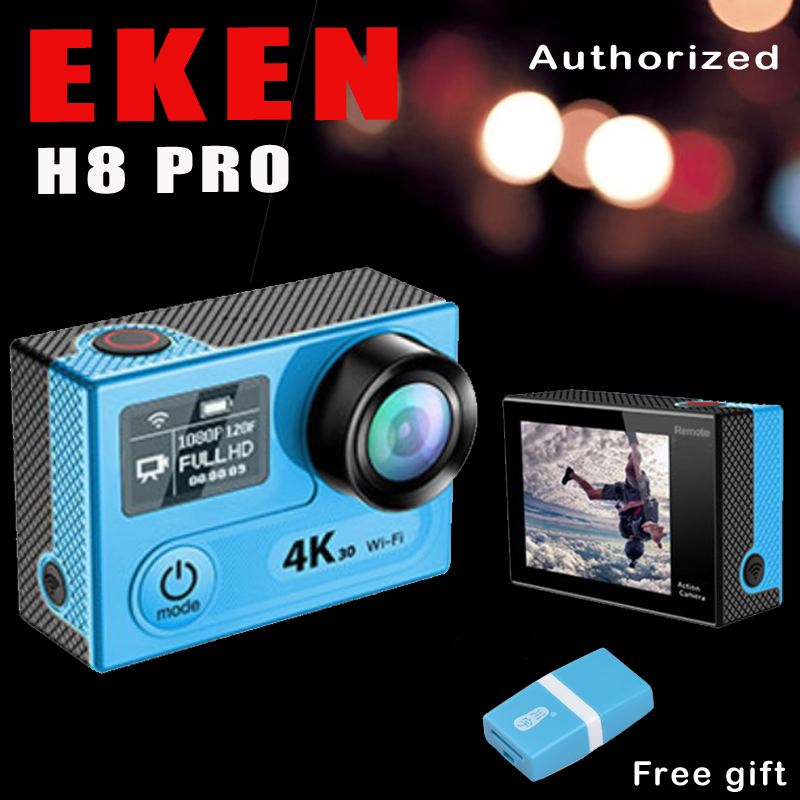 Action Camera EKEN H8 PRO Remote Control Ultra HD 4K Ambarella A12 WiFi 170 Helmet action Cam go waterproof pro Sport camera original eken sports camera h9 h9r action camera 4k 25fps with remote 2 0 helmet ultra hd cam underwater go waterproof pro