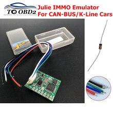 Универсальный автомобильный эмулятор Julie IMMO программатор Tacho программы для сидений Датчик заполнения программы для Benz для BMW для VW