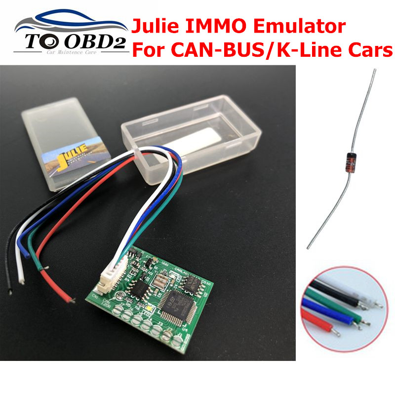 Universal Car Emulator Julie IMMO Programmer Tacho Programs For Seat Occupancy Sensor Programs For Benz For BMW For VW