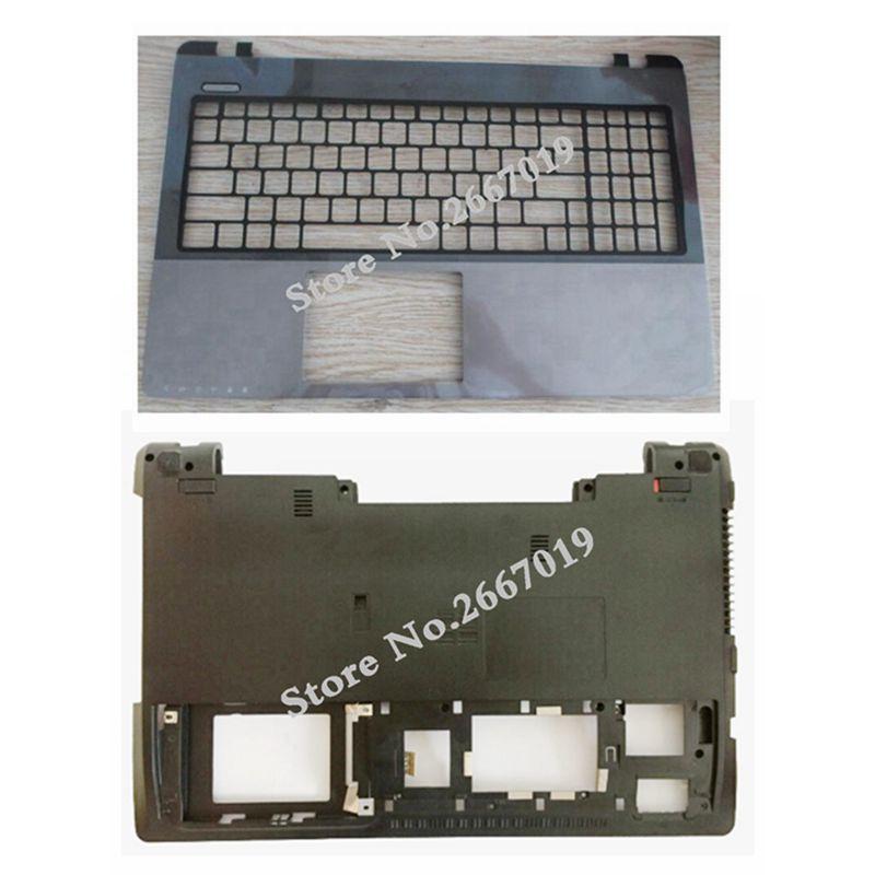 Laptop cover For Asus K55V X55 K55VD A55V A55VD K55 K55VM R500V bottom case Cove/Palmrest Upper Cover laptop shell for asus k55 k55v k55vd a55v k55a x55 u57a x55a top lcd back cover black gray a case
