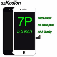 SZKOSTON Original Lcd Screen For IPhone 7 Plus LCD Glass Display Digitizer With Good 3D Touch