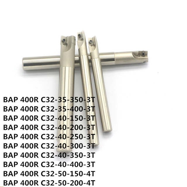 1PCS BAP400R-C32-32-200 High quality Indexable milling cutter for CNC machining