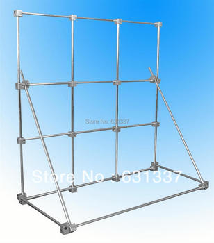 Laboratory Rack Multi-Function Physical Test Support Stand Base 100x100cm Aluminum