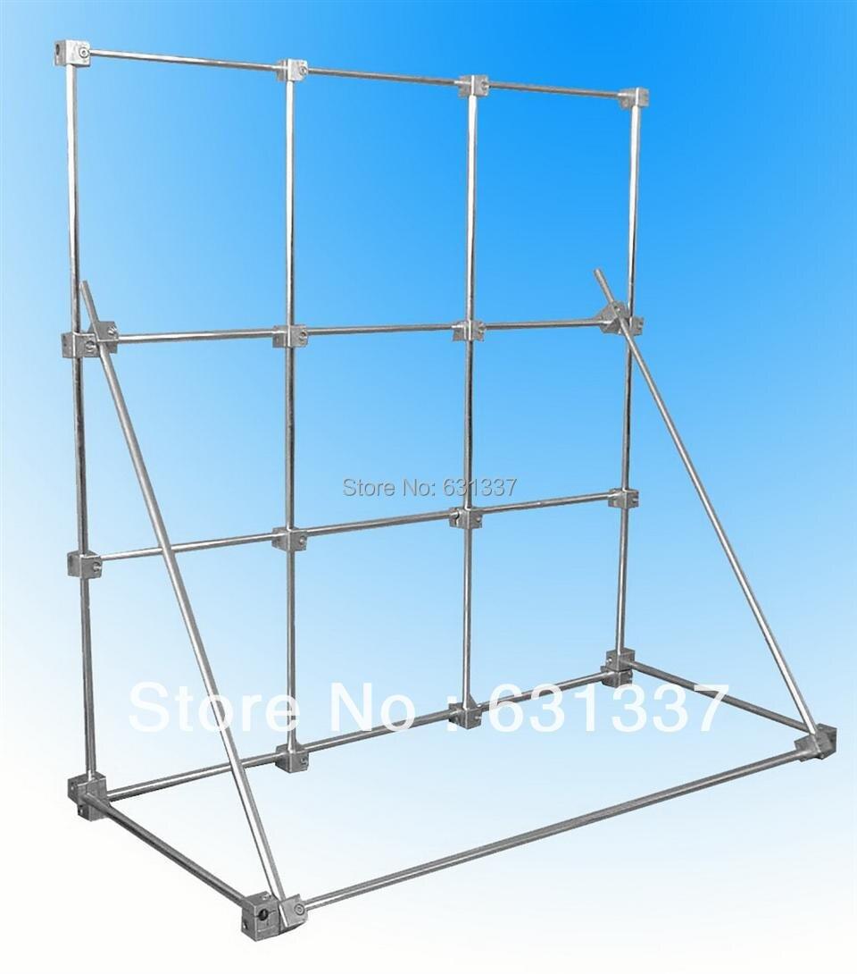 Support de laboratoire multi-fonction Test physique Support Support Base 100x100 cm aluminium