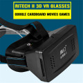 RITECH II Head Mount Plastic Version 3D Virtual Reality Glasses Google Cardboard Movies Games For 3.5 To 6 Inch Smartphones