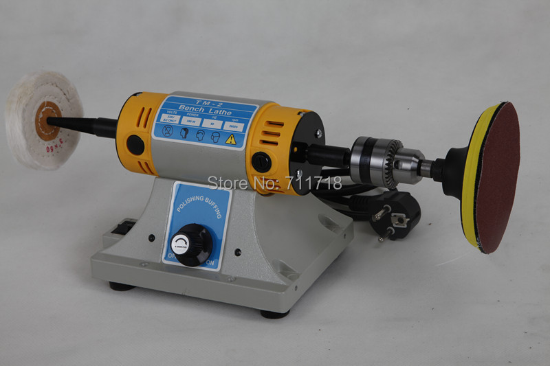 Multifunctional Mini Bench Lathe Machine Electric Grinder Polisher Driller Cutterbar Dremel