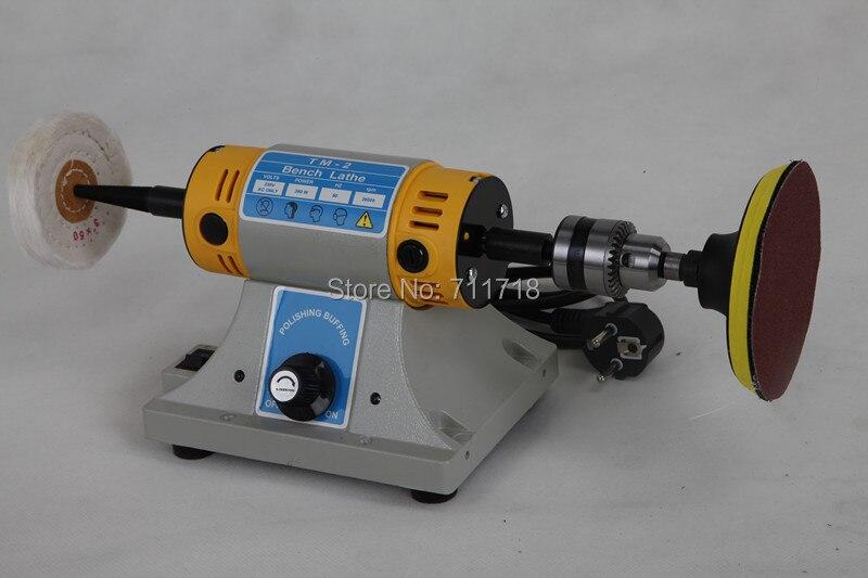 Multifunctional Mini Bench Lathe Machine Electric Grinder Polisher Driller Cutterbar Dremel