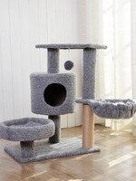 cat scratcher pet furniture cat condos pet supplies kitten house for cats tower cat scratching tree house