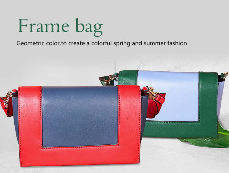 2018 New / FrameBag / Genuine Leather /Shoulderbag/crossbody bag 2018 new