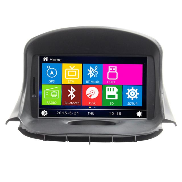 """7 """"coche dvd radio stereo navegación gps para Peugeot 206 HD Táctil pantalla En el tablero de control de dirección de la rueda Bluetooth RDS USB SD"""