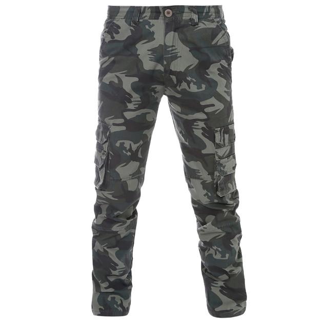 Otoño 2016 Nueva Moda Pantalones Pantalones Patchwork Hombres Grandes Bolsillos Pantalones de Camuflaje Del Ejército Militar Más Tamaño Pantalones Frescos Desigh
