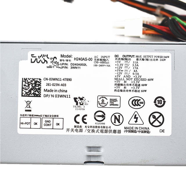 US $35 88 |Power Supply for DELL OPTIPLEX 3010 390 790 990 SFF 2TXYM RV1C4  3WN11 592JG-in Laptop Adapter from Computer & Office on Aliexpress com |