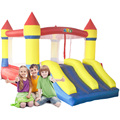 YARD Free Shipping Dual Slide Bouncy Castle Inflatables Jumping Pool Happy Amusement Park For Kids Healthy Exercise
