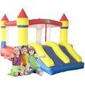 Yard envío libre dual de la diapositiva inflables castillo hinchable saltando piscina parque de atracciones feliz para los niños el ejercicio saludable
