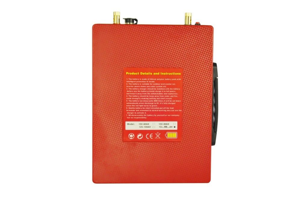big promotion Long discharge Quick charge ultra thin 12v battery pack 80ah from china