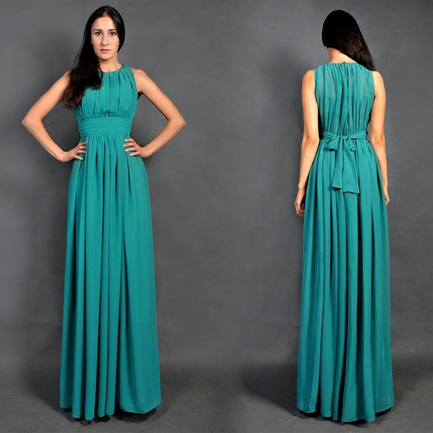 Popular Turquoise Bridesmaid Dresses for Beach Wedding-Buy Cheap ...