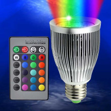 110V 220V 85-265V E27 RGB LED bulb 16 Color Magic Night Light Lamp RGBW Stage / 24key Remote Control holiday
