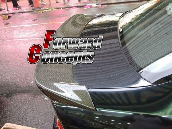 PER LA FIBRA di CARBONIO 04-08 TSX CL7 CL9 JDM POSTERIORE WING TRONCO SPOILER
