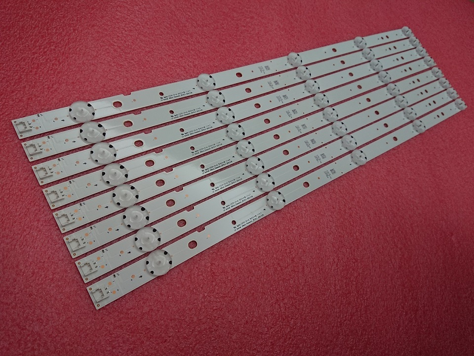 New Original 8 PCS/set 5LEDs 510mm LED Backlight Strip For 49